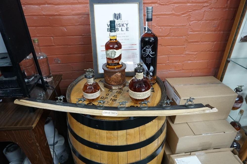 Buffalo Trace Bourbons