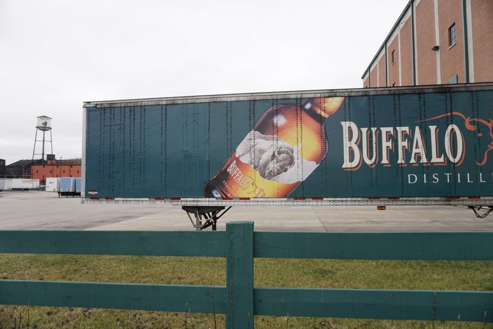 Buffalo Trace Truck